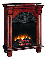 28'' Regent Antique Mahogany Electric Fireplace