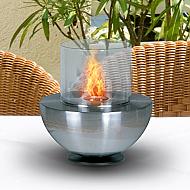 "7.8"" Spherical Glass Fire"