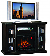 47.5'' Anaheim Espresso Entertainment Center Electric Fireplace