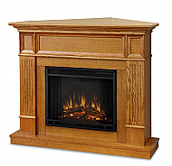 "45"" Cameron Oak Convertible Electric Fireplace"