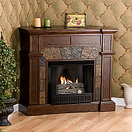 45.5'' Holly & Martin Cypress Gel Fireplace-Espresso