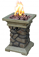 15'' Tuscan Ridge Tabletop Gas Firebowl