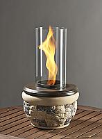Ledgestone Indoor Outdoor Table Top Fire Pit - Venturi Flame