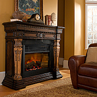 "57.5"" St. Andrews Electric Fireplace"