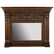 "83"" Casa Bella Mantel Mirror - Dark"