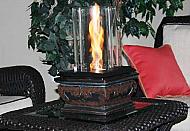 10'' Jasmine Serenity Tabletop Fire Pit