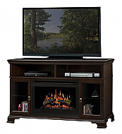 "52.75"" Dimplex Brookings Espresso Entertainment Center Fireplace"
