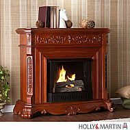 "48.25"" Hartley Gel Fuel Fireplace - Classic Mahogany"