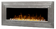 "51.75"" Dimplex Ashmead Antique Silver Wall-Mount Electric Fireplace"