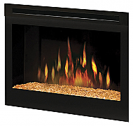 "25"" Dimplex Glass Ember Electric Fireplace Insert"