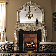 "72"" French Fireplace Surround"
