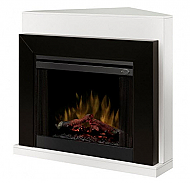"50.5"" Dimplex Ebony White Convertible Electric Fireplace - BFSL-BMBLK"