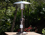 21'' Mana Old World Bronze Finish Table Top Patio Heater