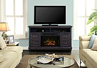 "62"" Dimplex Solomon Media Console Fireplace - GDS25LD-1594WG - GDS25GD-1594WG"