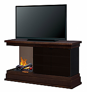 "60"" Dimplex Debenham OptiMyst Espresso Entertainment Electric Fireplace"