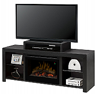 "62.5"" Dimplex Beasley Deep Brown Media Console Fireplace - GDS25G5-1441KN - GDS25L5-1441KN"