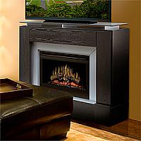 """47.5"""" Dimplex Jasper Black Electric Fireplace - GDS25-1241B"""