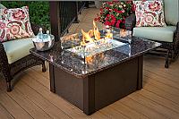 "36"" Grandstone Conversational Fire Pit Table"