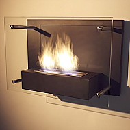 "23.62"" Radia Wall Mounted Ethanol Bio-Fireplace"