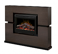 "65.5"" Dimplex Linwood Gray Electric Fireplace - GDS33-1310RG"