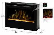 "26"" Dimplex Electric Fireplace Insert"
