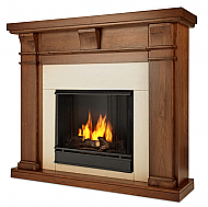 "49.9"" Porter Walnut Slim Gel Fireplace"