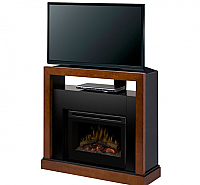 "45"" Dimplex Tanner Walnut Convertible Media Console Fireplace - GDS25-5309WN"