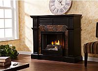 "45.5"" Cartwright Ebony Convertible Gel Fireplace - FG9288"