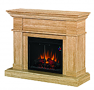 47.5'' Everest Marble Electric Fireplace