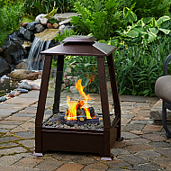 "20"" Tierra Outdoor/Indoor Fireplace"