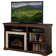 "65"" Dimplex Edgewood Espresso Entertainment Center Fireplace - GDS25-1269E"