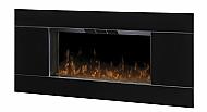 "40"" Dimplex Lane Black Wall Mount Fireplace"