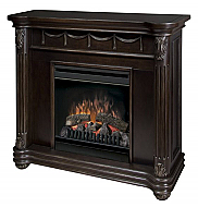 "43.5"" Dimplex Rome Espresso Electric Fireplace"