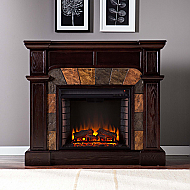 "45.5"" Holly & Martin Cypress Electric Fireplace-Espresso"