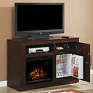 "50.75"" Party Time Empire Cherry Electric Fireplace Media Console - 23TF2587-C232"