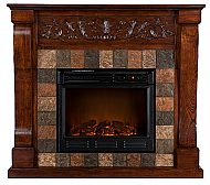 45'' Holly & Martin Calgary Electric Fireplace-Espresso