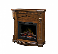 "47.75"" Dimplex Denton Burnished Walnut Electric Fireplace - DFP26-1340BW"