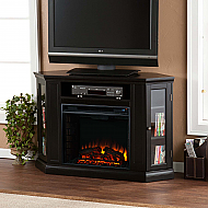 "48"" Holly & Martin Ponoma Convertible Media Electric Fireplace-Black"