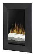 "24"" Dimplex Bevelled Black Electric Wall Fireplace"