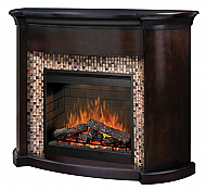 "63"" Dimplex Martindale Espresso Purifire Electric Fireplace"