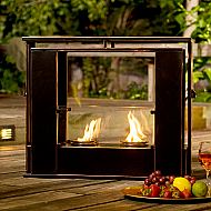 "24"" Holly & Martin Walton Portable Indoor/Outdoor Gel Fireplace"