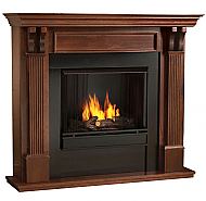 "48"" Ashley Mahogany Gel Fuel Fireplace"