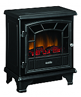 20'' Duraflame Black Stove Electric Fireplace