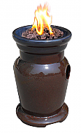 16.5'' Cagney Ceramic Outdoor Gas Firebowl