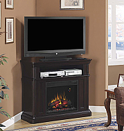 "43"" Oakfield Dual Entertainment Espresso Electric Fireplace - 23DE8202-E451"