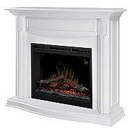 "47.75"" Dimplex Gwendolyn White Mantel Electric Fireplace - DFP26L-1480W"