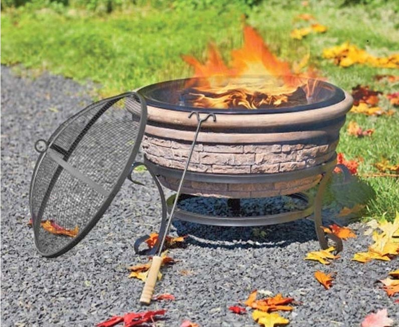 Clay Outdoor Fireplace Recall