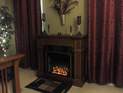 why your electric fireplace stopped. Black Bedroom Furniture Sets. Home Design Ideas