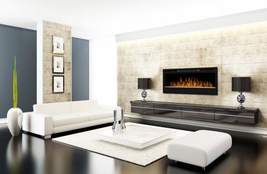 electric contemporary ideas fire pin fireplace modern pits coner