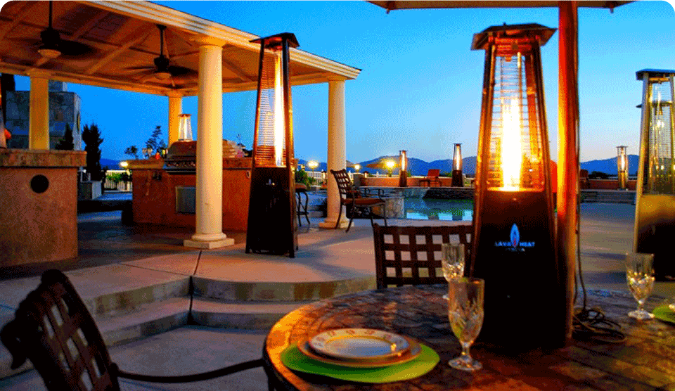 Lava Heat Commercial Patio Heater